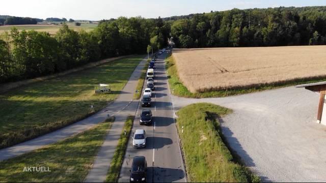 5-km-Stau bei Dietikon wegen Bauarbeiten