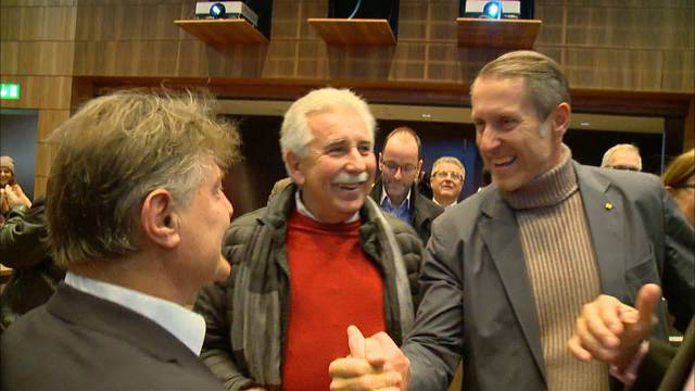 Ja zum Stadion: Grosse Freude bei den Zürcher Fussball-Präsidenten
