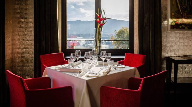 Das Restaurant im Dolder Grand, Zürich.