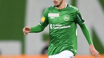 Betim Fazliji bleibt zumindest bis im Sommer 2023 beim FC St. Gallen