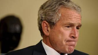 Ex-Präsident George W. Bush und sein Vater sind keine Freunde von Donald Trump.