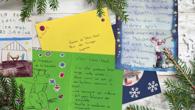 Die Post wird auch in diesem Jahr Tausende von Kinderbriefen an den Weihnachtsmann und das Christkind beantworten. Dafür ist ein Team in Chiasso besorgt.