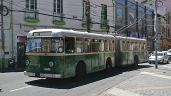 In Valparaiso verkehrt ein 54 Jahre alter VBZ-Bus.
