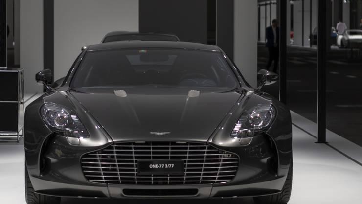 Der britische Autobauer Aston Martin bereitet sich auf ein allfälliges Chaos nach einem ungeordneten Austritt Grossbritanniens aus der EU vor.(Archivbild)