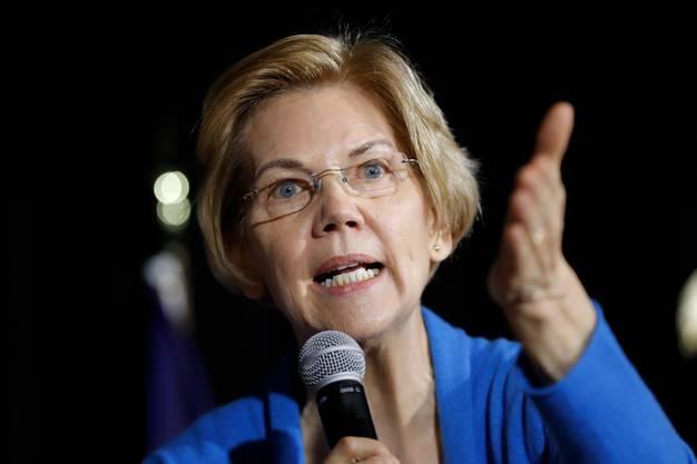 Ex-Präsidentschaftskandidatin und Biden-Konkurrentin Elizabeth Warren.