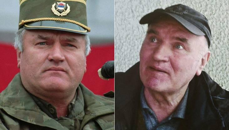 Ratko Mladic 1995 und heute
