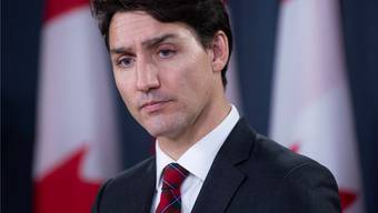 Ernster Blick statt Sonnyboy: Justin Trudeau macht derzeit ein handfester Skandal zu schaffen.
