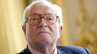 Der Gründer des Front National (FN), Jean-Marie Le Pen (Archiv)