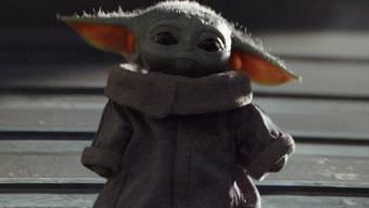 Ein Kind, das schnucklige Baby Yoda ist der Star der Serie «The Mandalorian».