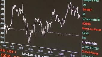 Die Schweizer Börse schliesst mit deutlichen Verlusten (Symbolbild)
