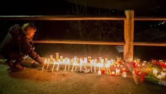 Schweigemarsch im Gedenken an die Opfer von Daillon