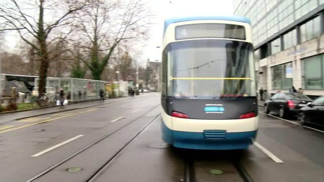 Stromausfall legt Tramverkehr in Zürich lahm