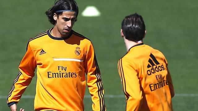 Sami Khedira trainiert seit zwei Wochen wieder mit der Mannschaft