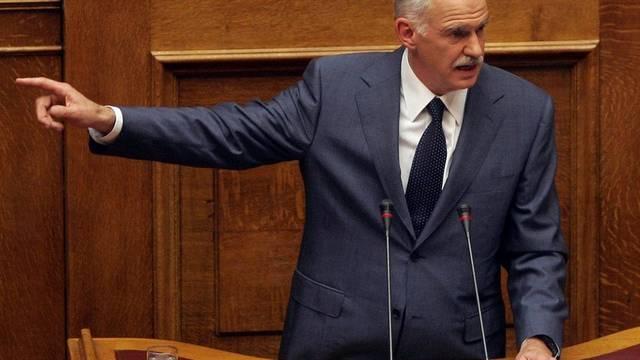 In welche Richtung gehts? Der griechische Premier Papandreou (Archiv)