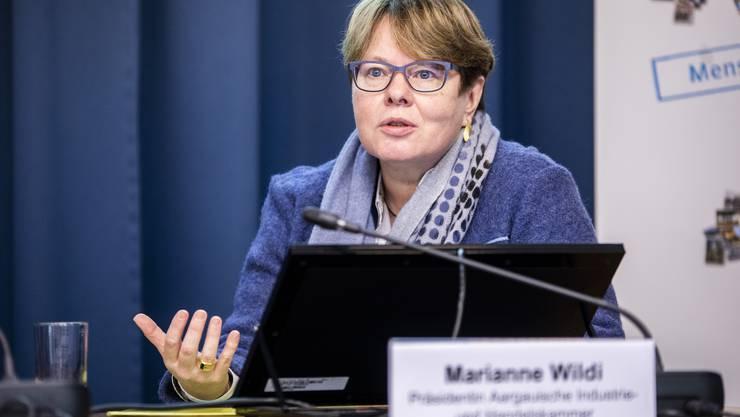 Marianne Wildi, Präsidentin Aargauische Industrie- und Handelskammer: «Die Fachkräfte  sind das Gold der  Zukunft.»