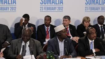 Teilnehmer der Somalia-Konferenz in London