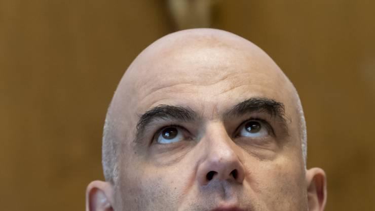 Als Gesundheitsminister an vorderster Stelle im Bundesrat, wenn es um Coronavirus-Massnahmen geht: Alain Berset.