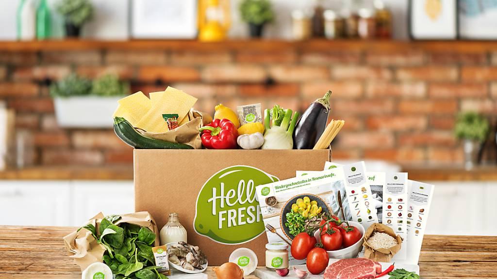HelloFresh hat dank Corona zahlreiche Kunden gewonnen: Die Zahl stieg von 2,4 auf fast 4,2 Millionen.