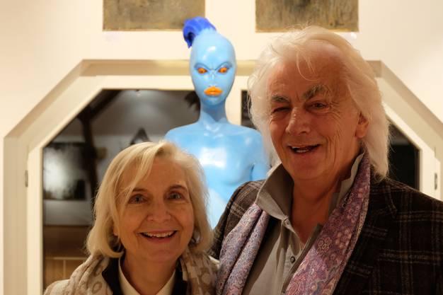 Béatrice und Hanns Bachlechner: Ihre Kunstgalerie ist jetzt schon seit zehn Jahren in Bergdietikon.