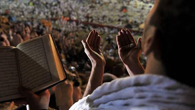Gebete begleiten die Rituale rund um Mekka