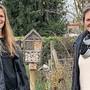 Martina Kerschbaumer (l.) und Myrtha Dössegger von der IG Kanti.
