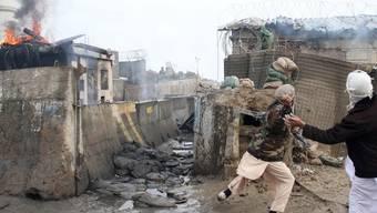 Afghanistan kommt nach der Koranverbrennung nicht zur Ruhe (Archiv)