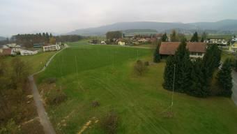Baustangen auf dem Areal Steinengasse. Das Solothurner Verwaltungsgericht hat den Gestaltungsplan als rechtens erachtet und die Beschwerde gegen das Projekt abgewiesen.