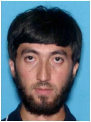 """Schnell gefasst: Die US-Bundespolizei FBI hatte den 32-jährigen Usbeken Mukhammadzoir Kadirov zur Fahndung ausgeschrieben, weil er """"Informationen zu dem tödlichen Angriff"""" haben könnte"""