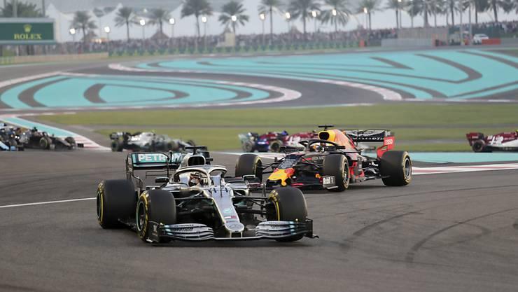 Lewis Hamilton feiert beim Saisonfinale in Abu Dhabi seinen 84. GP-Sieg in der Formel 1