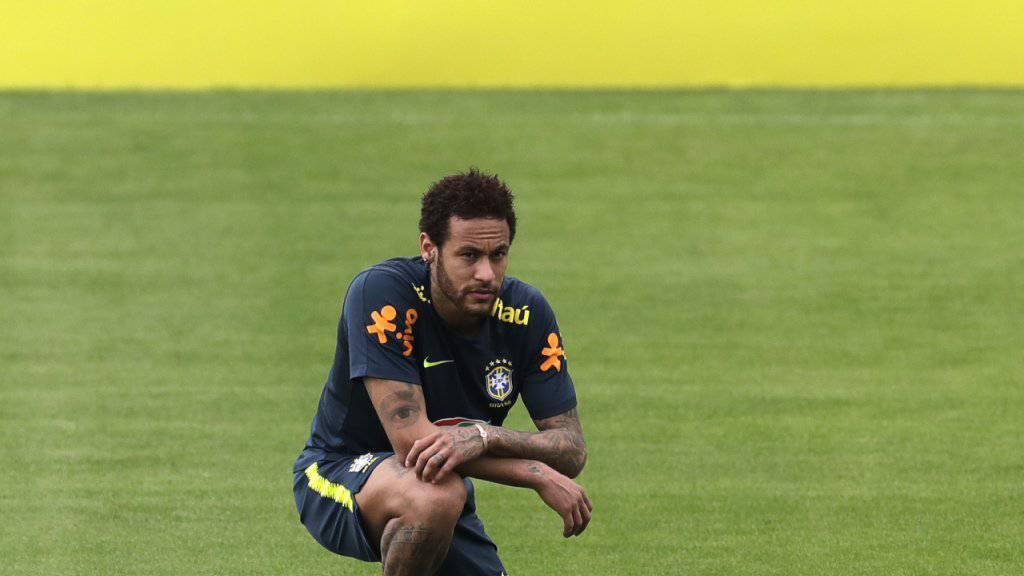 Als Captain der Seleçao abgesetzt: Neymar