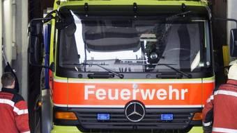 Die Feuerwehr Hülften (Feuerwehr der Gemeinden Frenkendorf und Füllinsdorf), die Stützpunkt-Feuerwehr Liestal und das Feuerwehr-Inspektorat Basel-Landschaft waren im Einsatz(Symbolbild)