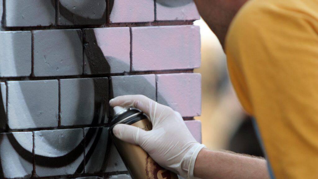 Neun Sprayer richten Sachschaden von rund 84'000 Franken an