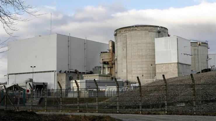 Vom elsässischen Atomkraftwerk Fessenheim ist derzeit nur ein Block am Netz.