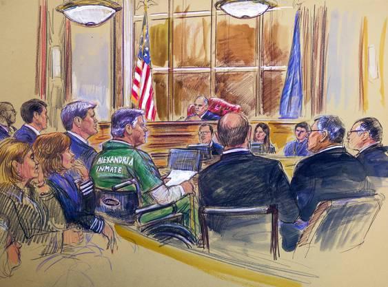 Ein US-Gericht verhängte eine 47-monatige Gefängnisstrafe gegen den 69-Jährigen wegen Steuer- und Bankenbetrugs.