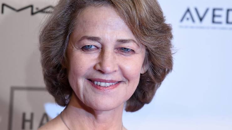 Charlotte Rampling letzten Dezember, als sie den Europäischen Filmpreis für ihr Lebenswerk bekam. Mit 70 ist ihr Lebenswerk aber nicht abgeschlossen: Ende Monat könnte sie als verspätetes Geburtstagsgeschenk einen Oscar bekommen (Archiv).