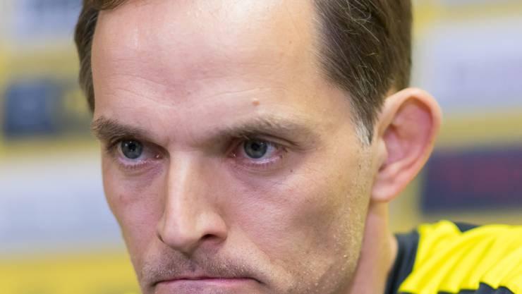Thomas Tuchel steht in Dortmund vor dem Aus