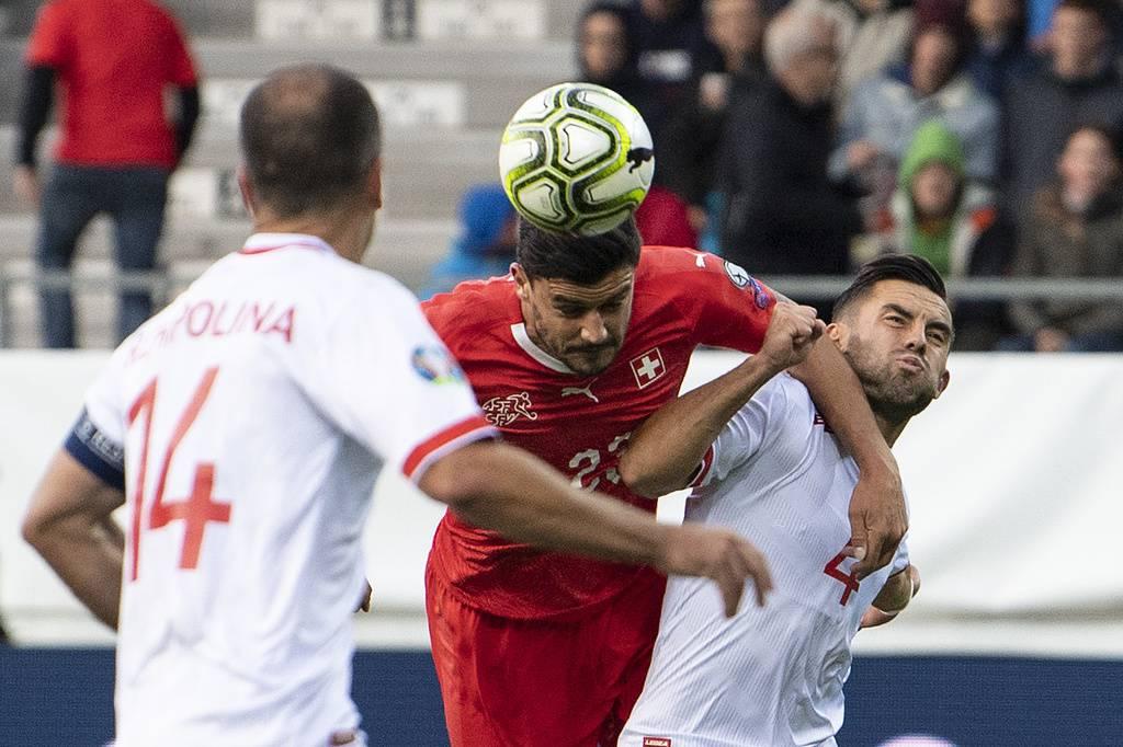 EM Qualifikationsspiel: Schweiz - Gibraltar 08.09.2019 (© Keystone)