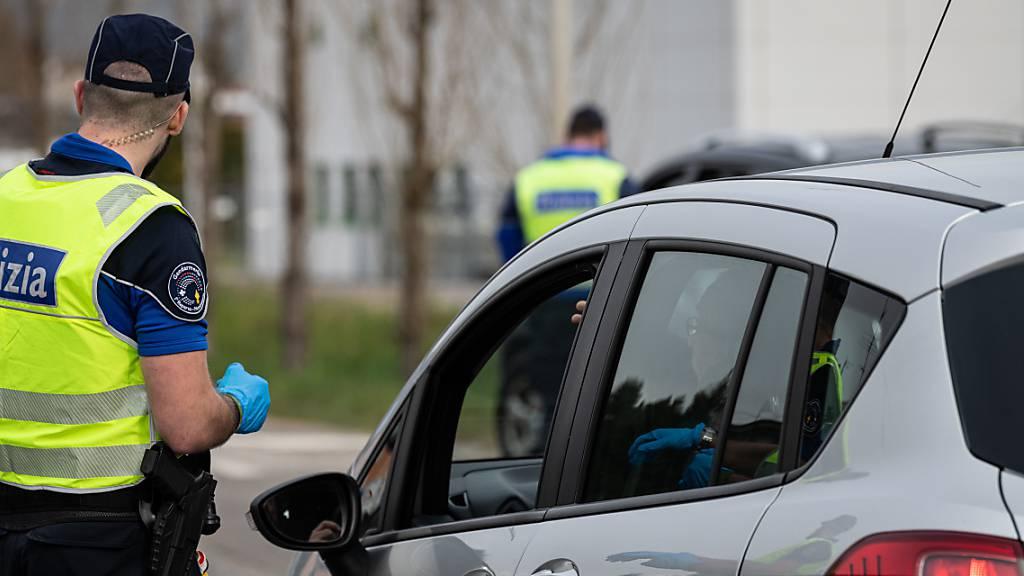Einreisebeschränkungen an Grenze zu Italien bleiben