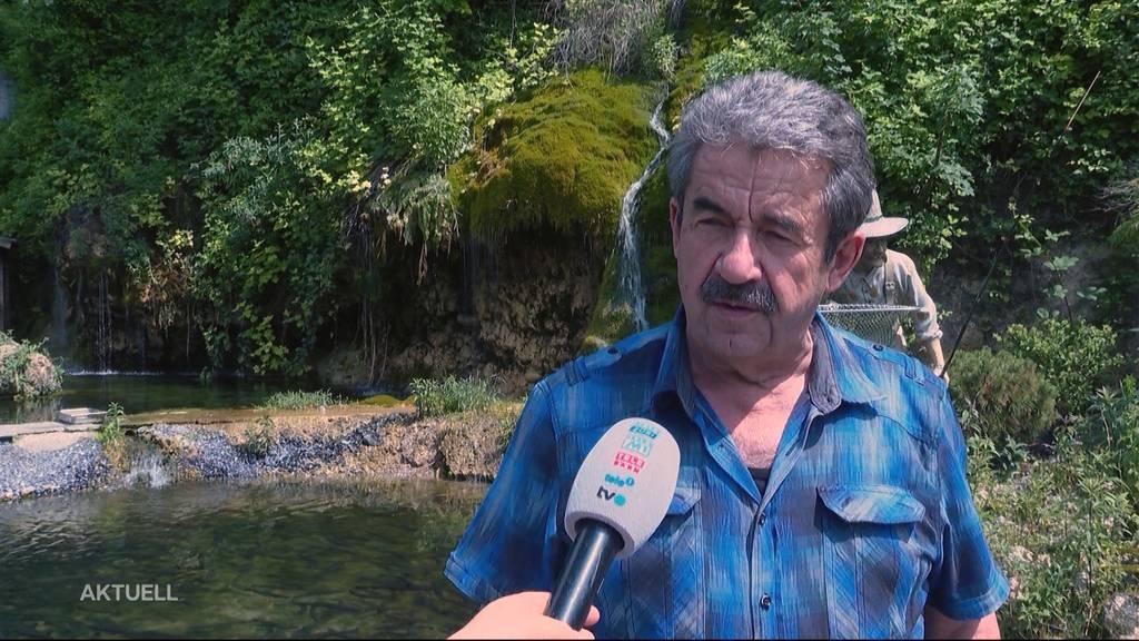 Forellenprozess: Fischzucht-Besitzer Roman Hufschmid hofft auf Entschädigung