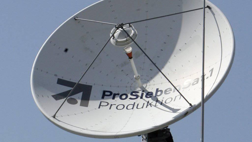 Erstes Medienunternehmen im deutschen Aktienindex: ProSiebenSat.1 verdrängt Düngemittelhersteller aus dem Dax. (Archiv)