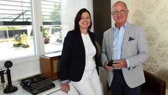 «Christine Frey ist massgeblich für die erfolgreiche bürgerliche Allianz im Baselbiet verantwortlich», sagt der neue FDP-Chef Paul Hofer über seine Vorgängerin.