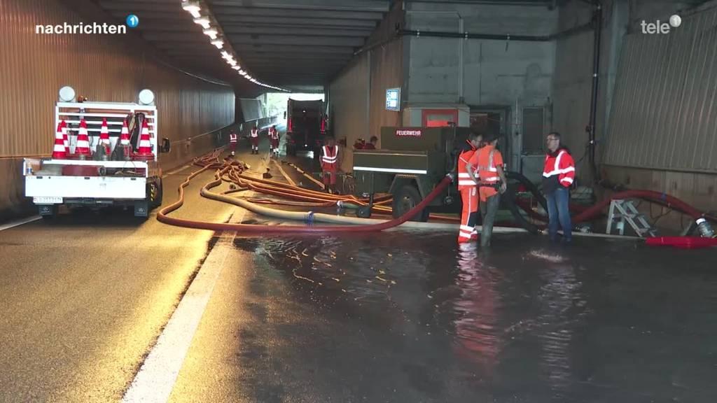 Aktuelle Situation Hochwasser Luzern