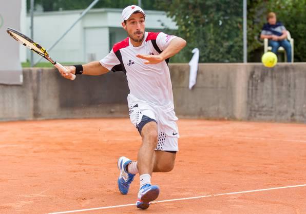 Ebenfalls wieder mit von der Partie: Der Vorjahresfinalist Alejo Prado.