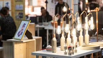 «Betonist» – ein Basler Designlabel an der Feinmesse.