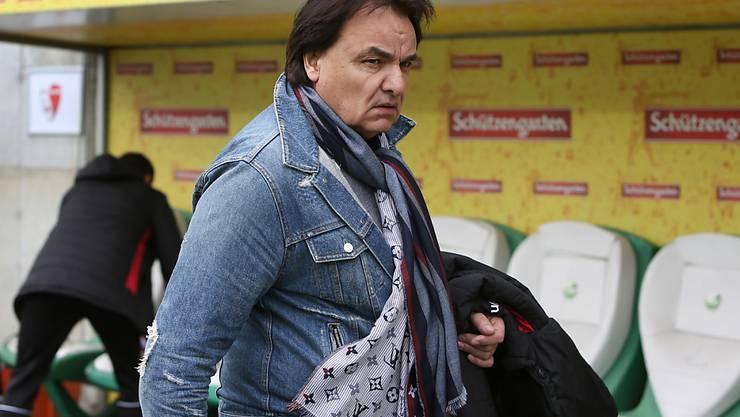 Die Situation seines FC Sion kann Präsident Christian Constantin nicht gefallen