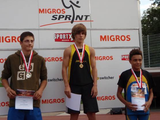 Mit 15 Jahren am Leichtathletik-Event ganz oben.