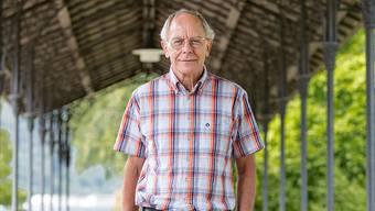 Dr. med. Josef Sachs, abtretender Chefarzt Forensik, auf dem Gelände der Klinik in Königsfelden. sandra ardizzone