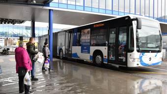 Gehört die Bushaltestelle Gäupark bald der Vergangheit an? Dies sieht jedenfalls ein neues Buskonzept vor, welches Ende 2017 in Kraft treten soll.
