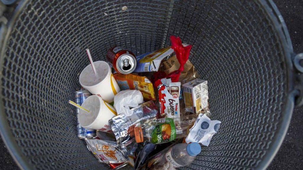 492 Kilo Abfall pro EU-Bürger - 703 Kilo Müll pro Schweizer