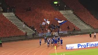 Grosse Geste des FC Wohlen – Anerkennung an die mitkämpfenden Fans
